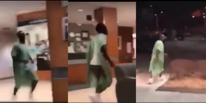 Man runs away from hospital bed after Doctor told him that his phone is with his wife